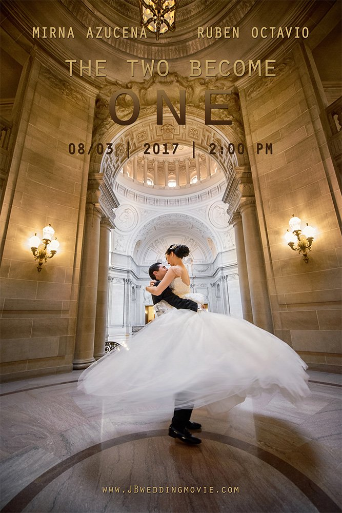 sf city hall wedding movie poster