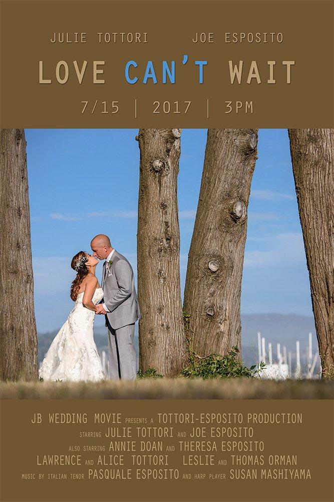 Mavericks Event Center Half Moon Bay wedding movie poster