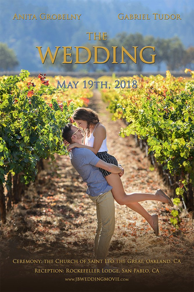 napa vineyards wedding movie poster