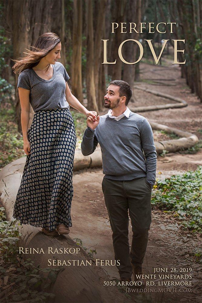 Lover's Lane wedding movie poster