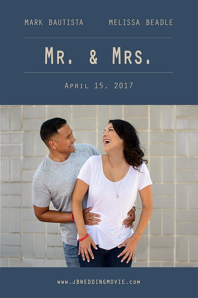 San Jose wedding movie poster